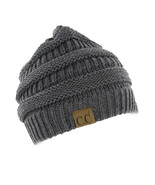 C.C Beanie Women's Thick Knit Winter Beanie Hat 20-A Color Melange Grey ... - €17,23 EUR