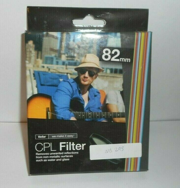 Primary image for Vivitar CPL Circular Polarizer Glass Filter 82mm
