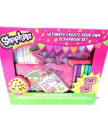 Shopkins Ultimate Create Your Own Scrapbook Set Innovative Designs sealed - $0.99