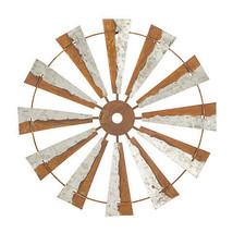 Darice Windmill Wall Decor: Iron, Brown, 24 inches w - $49.99