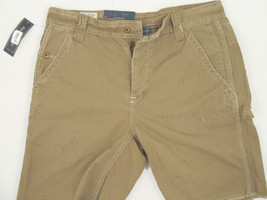 NEW $90 Polo Ralph Lauren Cutoff Carpenter Workwear Shorts!  42  *Vintage Style* - $49.99