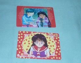 OFFICIAL JAPAN SAILOR MOON VINTAGE REGULAR PLASTIC CEL CARD W  AMY REI MARS - $7.00