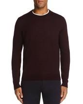 New Bloomingdales 100% Merino Wool Solid Raisin Crewneck Pullover Sweater 2XL - $13.85