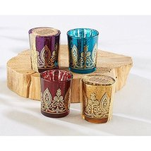 Indian Jewel Henna Votives - Assorted (pack of 24) - $134.25