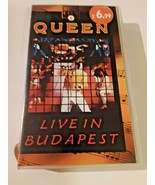 Queen live in Budapest VHS - $16.82