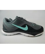 Nike Flex Trainer 6 Größe US 8 M (B) Eu 39 Trainingsschuh Damen Grau 831... - $50.63