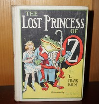 Vintage 1917 The Lost Princess of OZ by L Frank Baum - $85.23