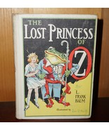 Vintage 1917 The Lost Princess of OZ by L Frank Baum - $83.61