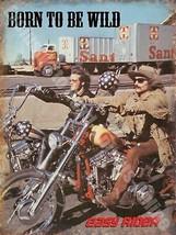 Easy Rider Born To Be Wild Moto Garaje Imán Nevera - $3.34