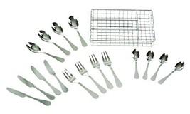 Melissa & Doug Stainless Steel Mealtime Utensil Set - Dishwasher-Safe Play - $19.48