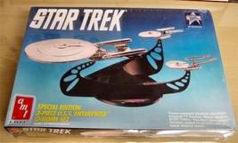 1991 AMT-Star Trek 3pc USS Enterprise Chrome Set Model - $21.78