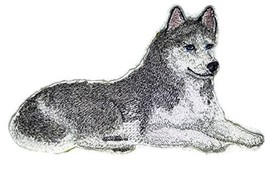 Amazing Custom Dog Portraits[Siberian Husky] Embroidered Iron On/Sew pat... - $9.89