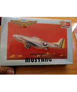 NIB WWII 50th Anniversary North American P-51D Mustang 1/144 Scale Airpl... - $12.37