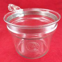 Pyrex Flameware 6283U 1½ qt Vintage Glass Saucepan w/ Stainless Steel Band image 3