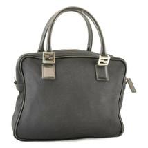 FENDI Nylon Hand Bag Black Auth 8484 - $99.00