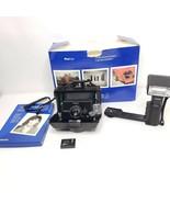 Polaroid ProPack Instant Film Camera ProFlash User Manual Strap Box Tested - $128.65