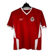 Chivas Guadalajara Men's Size Small Red Football Soccer Reebok Club Jers... - $24.71