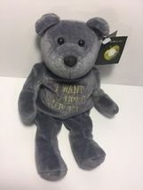 RARE BEATLES LIMITED EDITION FROM 1999 PLUSH BEANIE I WANT TO HOLD YOUR... - $39.99