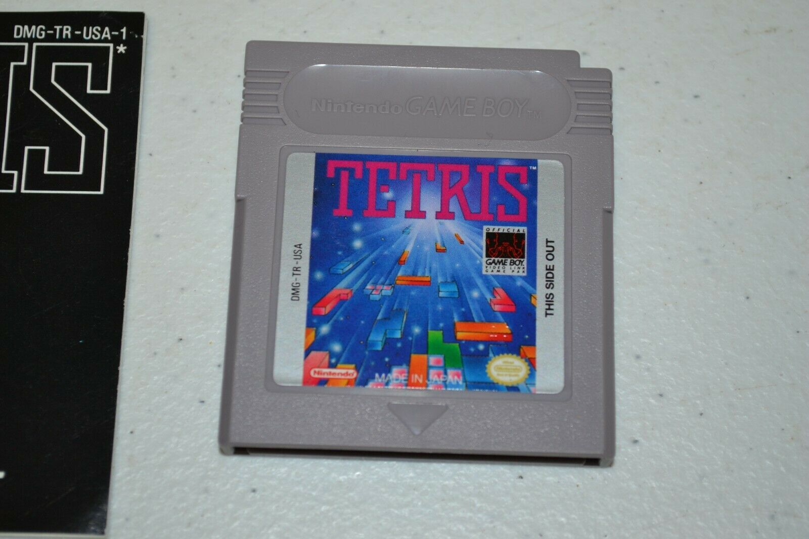 Tetris (Nintendo Game Boy, 1989) TESTED GB NGB w Manual image 2