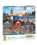 CEACO Jane Wooster Scott 1000 Pc Jigsaw Puzzle American Folk Art 27x20 3... - $21.28