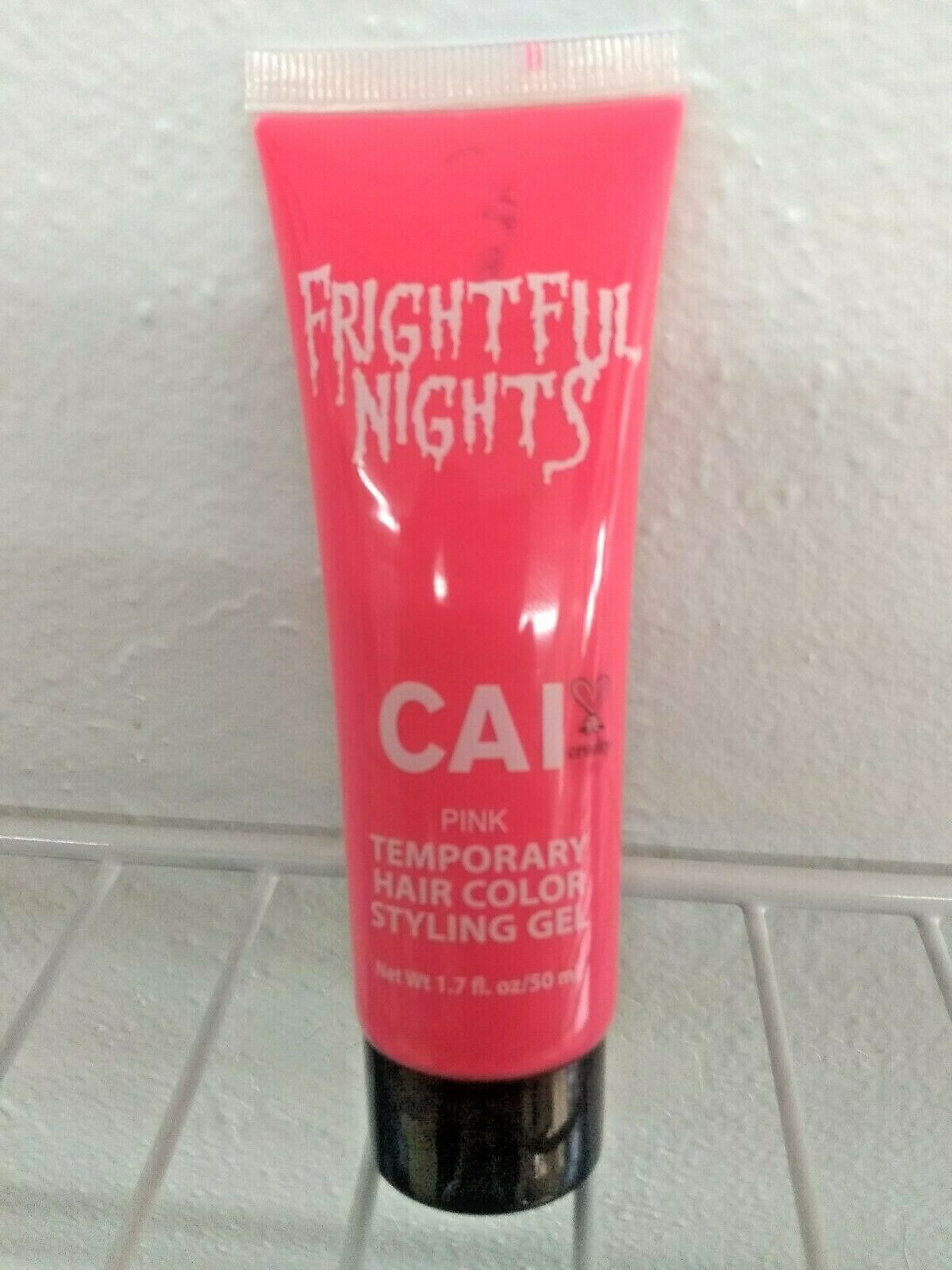 CAI Frightful Nights Temporary Hair Color Styling Gel - PINK NEW - 1.71 FL OZ