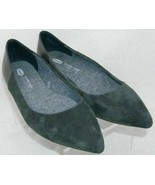 Dr. Scholl's Sidney gray man made pointed toe slip on ballet flats 10M 5913 - $29.22