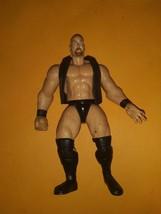 Stone Cold Steve Austin Vest Action Figure WWF Jakks Pacific Wrestling T... - $18.80