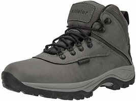 Kitleler Men's Waterproof Hiking Boots Lightweight Outdoor Sandproof Boo... - $38.61