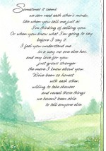 Hallmark 1980s I LOVE YOU Suzanne Heins Poem Greeting Card w/ Envelope - $2.99