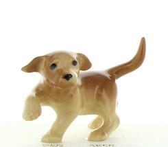 Hagen Renaker Dog Labrador Retriever Puppy Yellow Ceramic Figurine