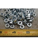 Hex Nuts #8/32 Steel Zinc Plated LOT of - 100#6071 - Quality Assurance f... - $23.85
