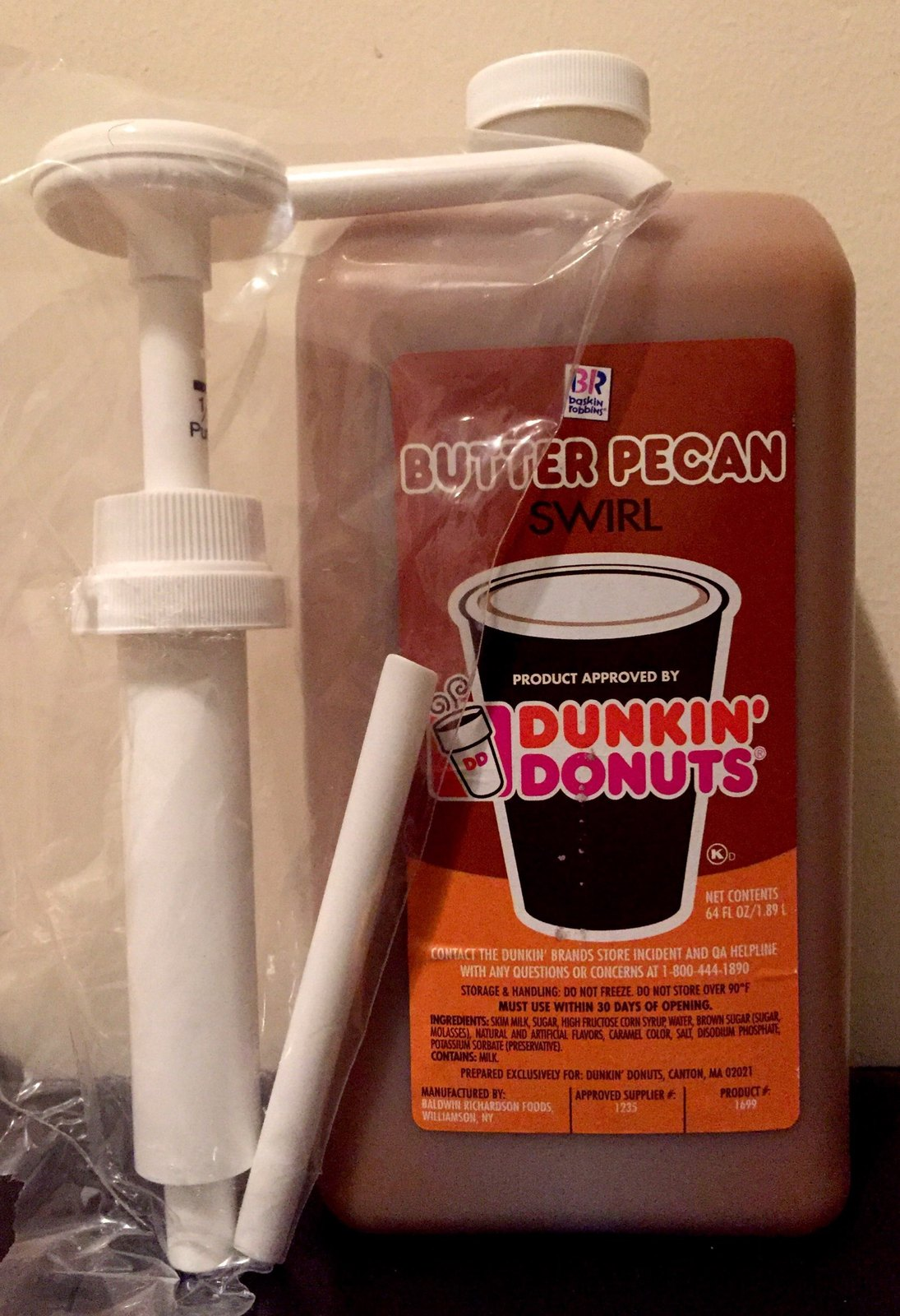 Dunkin Donuts Syrup
