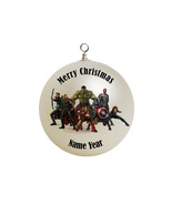 Personalized The Avengers Christmas Ornament #3 - $16.95