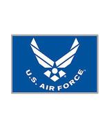 US Air Force Wings USAF Metal Enamel Belt Buckle 3.2 Inches - $17.95