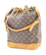 Authentic LOUIS VUITTON Noe Monogram Shoulder Tote Bag Purse #32959 - $295.00