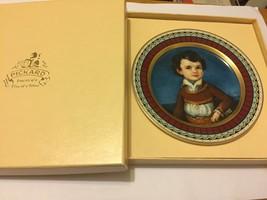 PICKARD The Sanchez Miniatures FELIPE Miniature Collector Plate w Box Sl... - $9.85