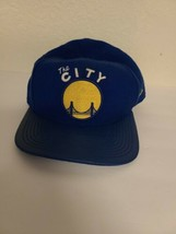 The City Golden state Warriors snapback Hat Cap New Era Hardwood Classic HWC - $11.52