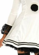 Leg Avenue Pierrot Clown Sexy Gothic Dress Adult Womens Halloween Costume 86658 image 5