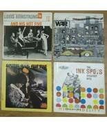 Record Album Qty 4 Ink Spots Roberta Flack Louis Armstromg - $19.55