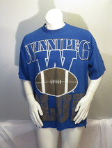 Winnipeg Blue Bombers Shirt (VTG) - 1990s Oversized Graphics - Men's XL - $59.00