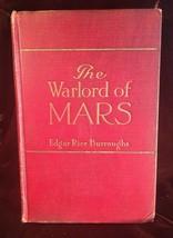 THE WARLORD OF MARS Edgar Rice Burroughs -1919 McClurg 1st W/Replica  ja... - $147.00