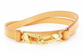 Authentic LOUIS VUITTON Leather Shoulder Strap #32791 - $295.00