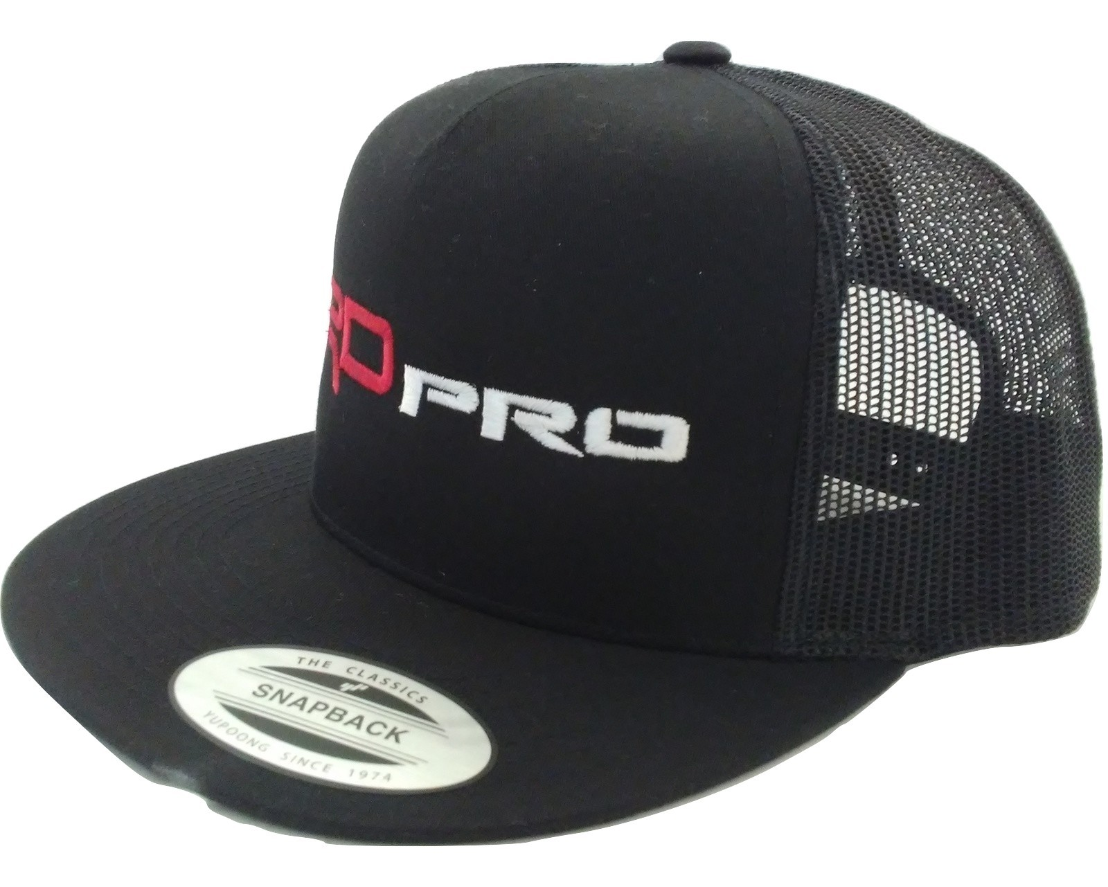 d871d971d9b TOYOTA TACOMA TRD PRO TUNDRA 4RUNNER BLACK TRUCKER HAT CAP SNAPBACK