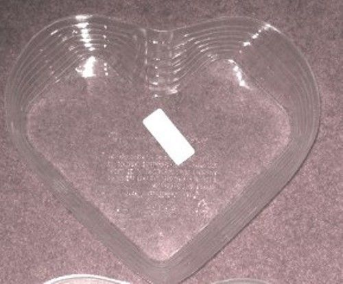 Longaberger 1999 Heart Love Treasures Basket Plastic Protector Only New