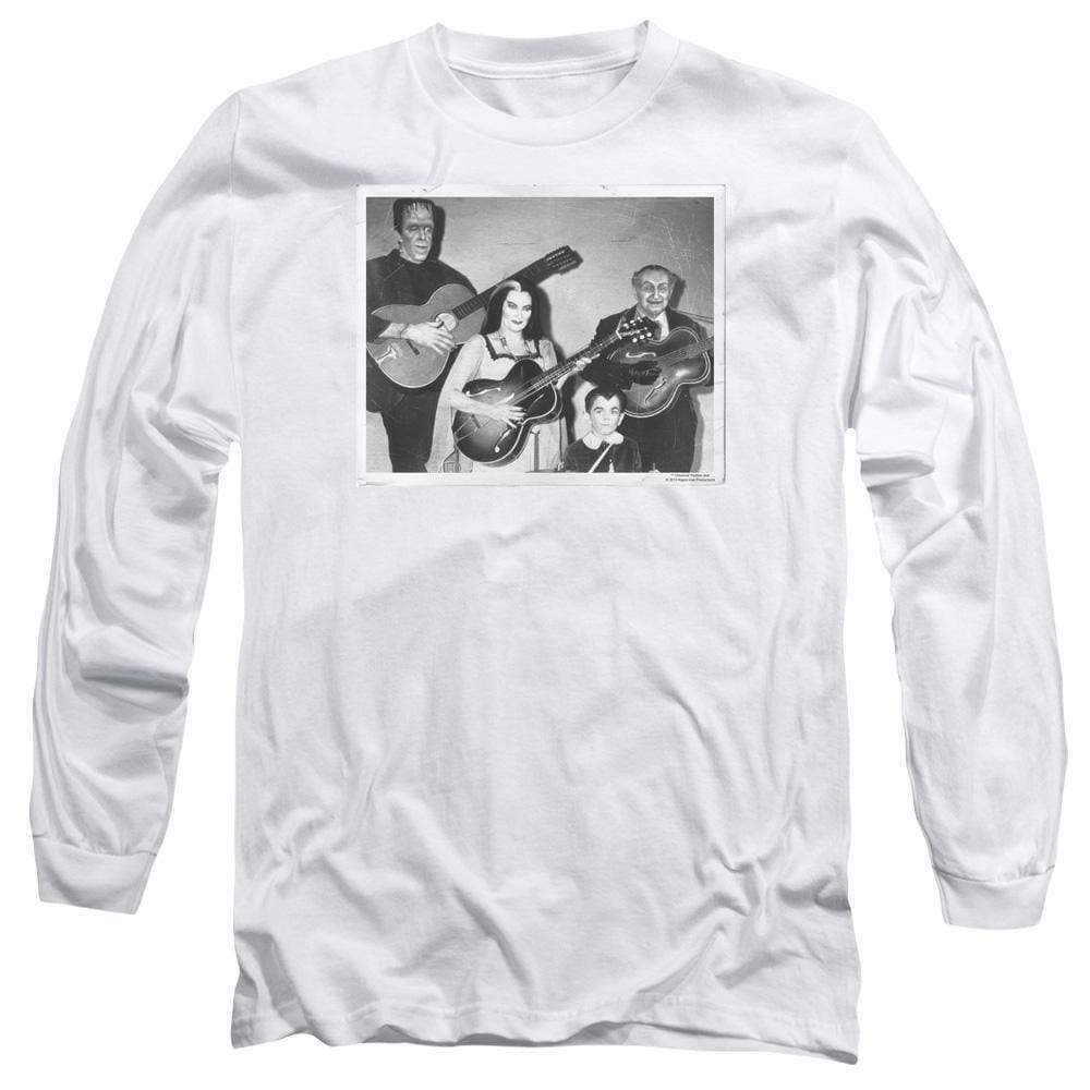 The Munsters family t-shirt retro comedy sitcom long sleeve graphic tee NBC793