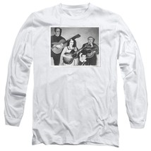 The Munsters family t-shirt retro comedy sitcom long sleeve graphic tee NBC793 image 1