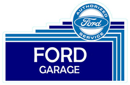 "Ford Garage Sign 32"" Wide Plasma Cut Metal Sign - $100.00"