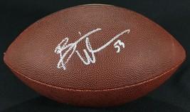 Brian Urlacher Signed Full Size Bears Logo Football Schwartz Signing - $210.36