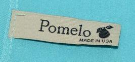 Pomelo Girls Tunic Aqua Brown White Black Leopard Print Size Bedium image 5