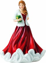 Royal Doulton Christmas Petite Figure of the Year 2018 Glad Tidings NEW - $98.89